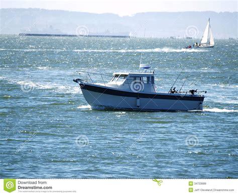 fishing boat charter san francisco sport fishing boat on san francisco bay royalty free stock