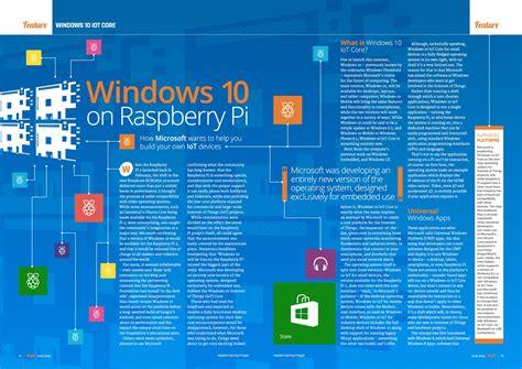 install windows 10 raspberry pi 3 magpi 34 the magpi magazinethe magpi magazine