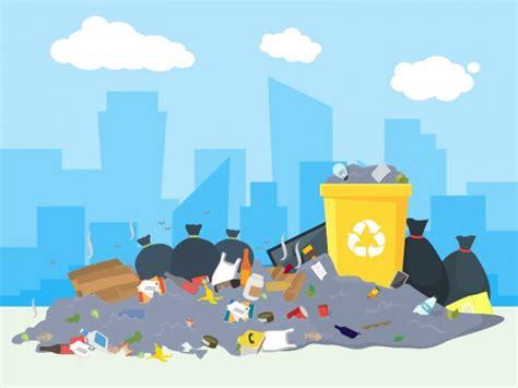 inspiratif gambar ilustrasi membuang sampah