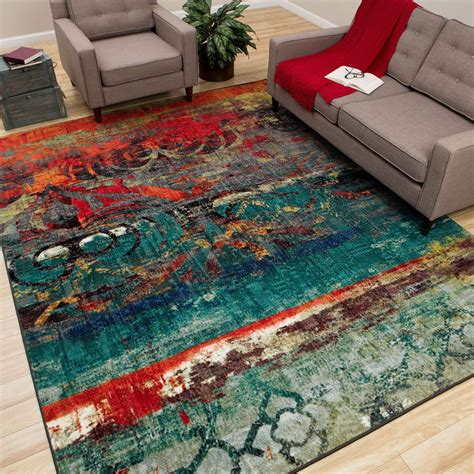 teal colored area rugs area rugs awesome orange and teal area rug orange rugs for living room teal and brown area rug