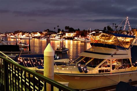 boat lights huntington beach christmas in orange county best holiday events