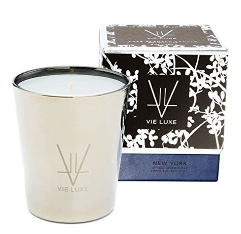 Best Scented Candles New York by Vie Luxe New York Deluxe Luxury Scented Candle Vetiver