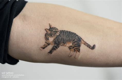 cat tattoo south korea underground tattoo artists show their love for cats