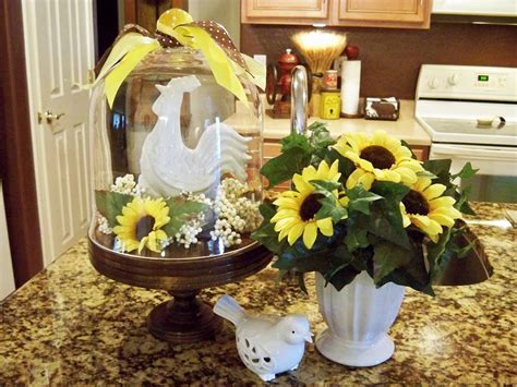 sunflower kitchen decorating ideas sunflower kitchen theme for fresher but simple kitchen