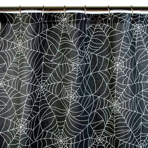 spider shower curtain spider web shower curtain for the bathroom pinterest
