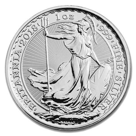 1 Silver Coin Price by 2018 Britannia Silver Coin 1oz Goldsilver Central Your