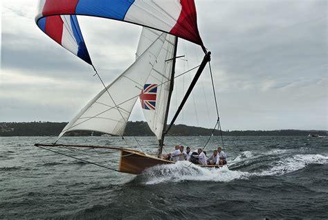 skiff boat sailing sailing australian chionship historic 18ft skiffs