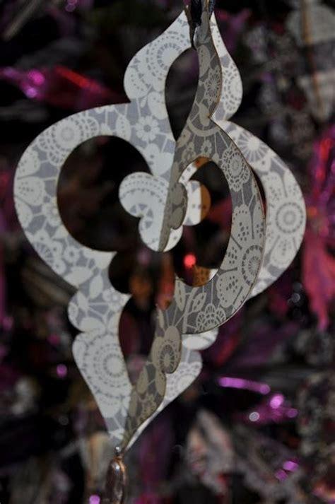Diy Ornate Paper Ornament Printable Template Tutorial Christmas Ornaments Diy Paper Ornaments Templates