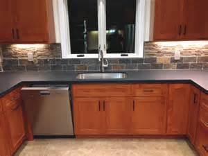Kitchen With Stone Backsplash Our Blog Archives Artistic Stone Kitchen And