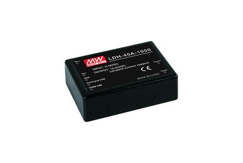 Power Supply Well Led Driver Ldh 45 350 1050da ldh 45a 350da is a 30 1w 350ma constant current output dc