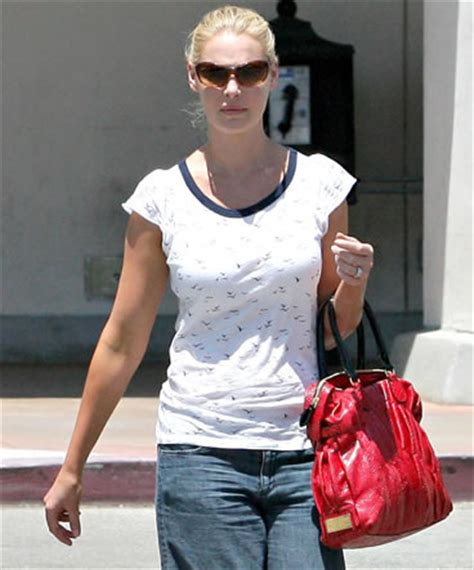 Katherine Heigls Valentino Purse katherine heigl style valentino pinktucked shopper