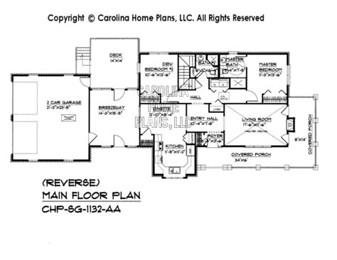 reverse floor plan country brick house plans house design plans