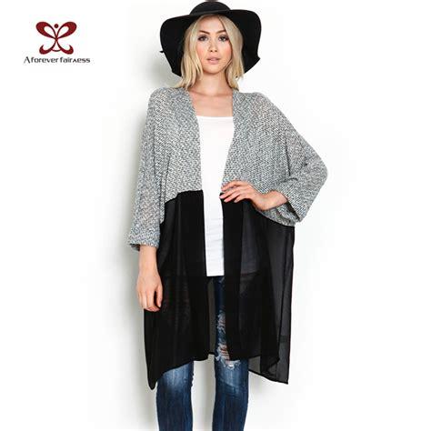 Cardigan Kimono by Chiffon Kimono Cardigan Plus Size Sweater Jacket
