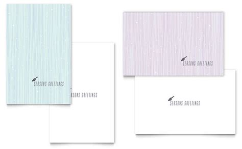 Microsoft Word Templates Place Holder Cards Winter by Winter Templates Word Publisher Powerpoint
