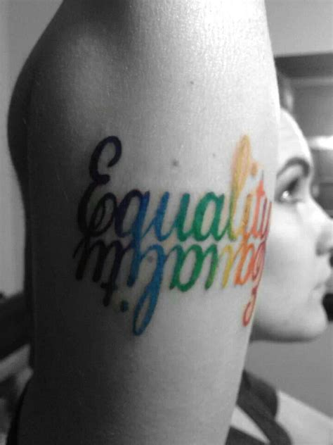 equality tattoo i this equality tattoos