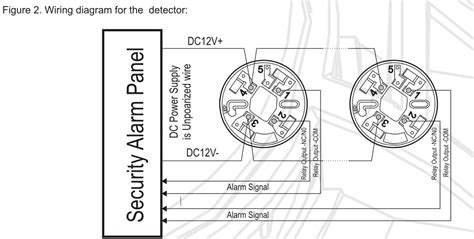 wired smoke detector wiring diagram wired get free image