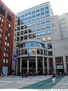 Nyu Mba Application Fee by Top 25 Mba Programs In The U S Nyu 12 Fortune