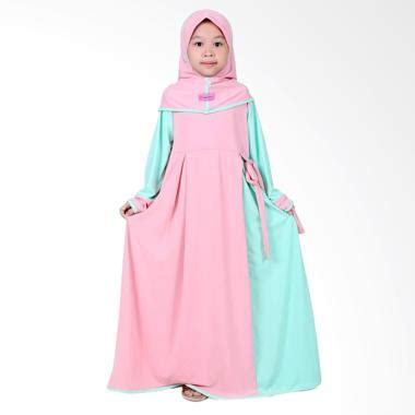 Baju Gamis Inficlo Sop 871 jual bajuyuli jersey gamis baju muslim anak perempuan mint harga kualitas