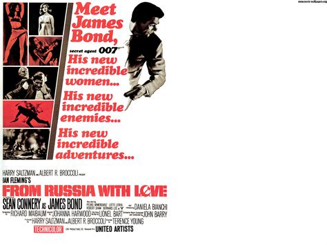 From With by Bond From Russia With Love 000 Teddy