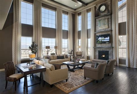 2 story living room 2 story great room dramatic 2 story family room toll
