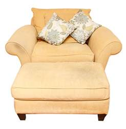 Oversized Chair With Ottoman Oversized Lounge Chair With Ottoman Ebth