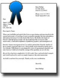 how to write a cover letter literary covering