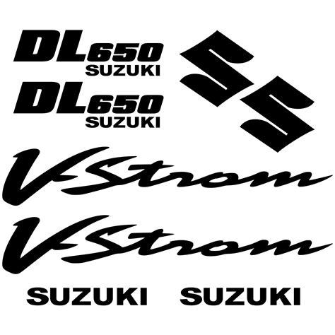 Suzuki V Strom Aufkleber wandtattoos folies suzuki dl 650 vstrom aufkleber set