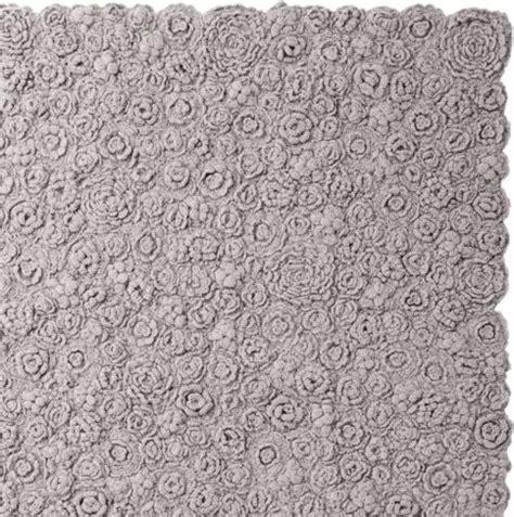 greige rug greige flora crocheted rug traditional rugs by serena
