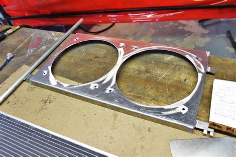 aluminum fan shroud fabrication keeping the cool mishimoto s brz fr s n play