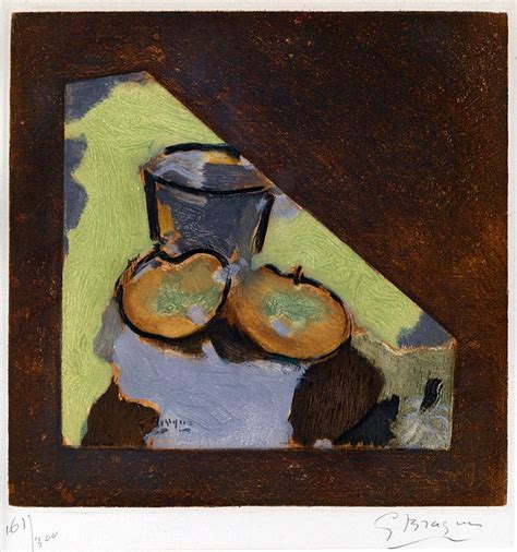 Drawing N Painting by Georges Braque Nature Morte Oblique Oblique Still