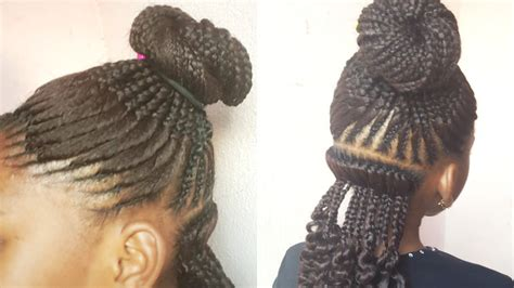 african fish style bolla hairstyle with braids fish style bolla hairstyle with braids easy man bun