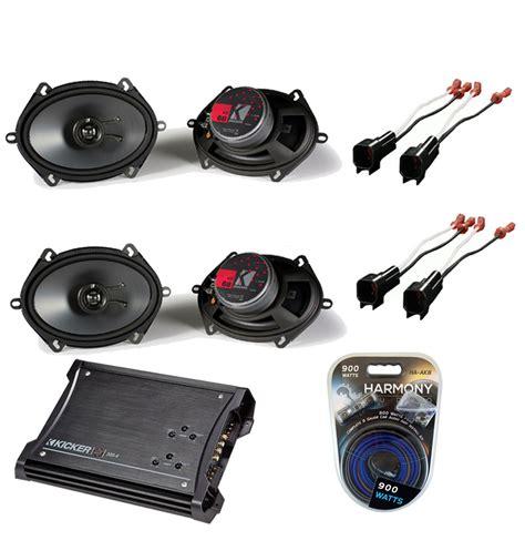 ford escape 01 12 kicker 2 ks68 coaxial speaker zx350 4