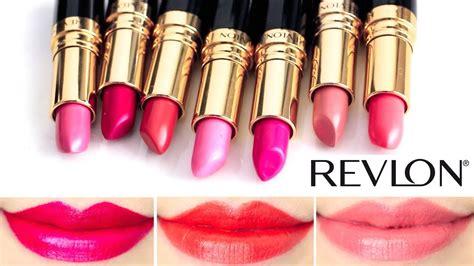Lipstik Revlon Is On revlon lustrous lipstick lip swatches 2