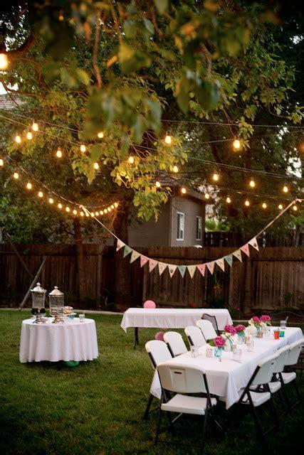 Backyard For Adults Domestic Fashionista Backyard Birthday Pink