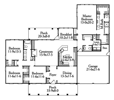 coyote ridge country style home plan 084d 0034 house