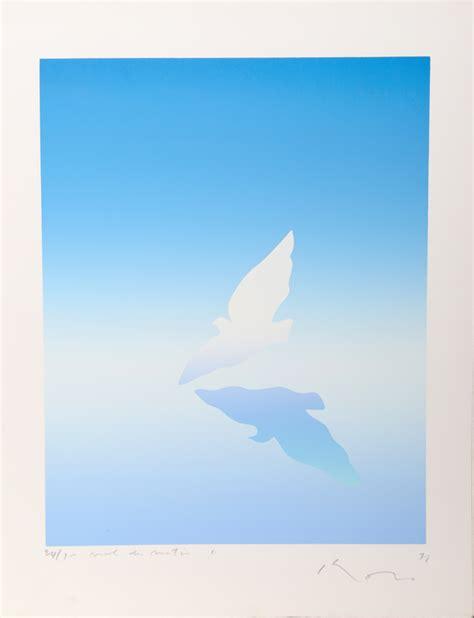 Kozo L by Kozo Inoue Dove Serigraph