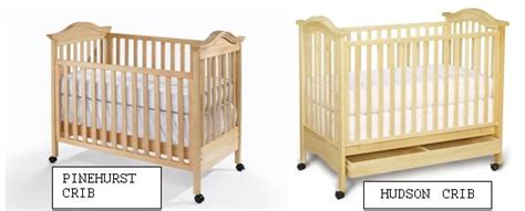 Babi Italia Crib Recall List Recall Lajobi Babi Italia Pinehurst And Bonavita Hudson Cribs Risk Of Entrapment And