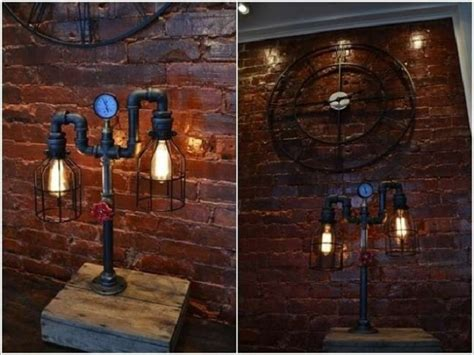 Wine Rack Chandelier 25 Cool Diy Metal Pipe Projects For Your Home