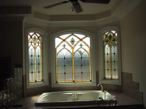 custom bathroom windows custom leaded glass bathroom window by the looking glass
