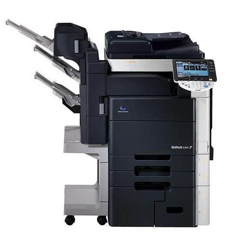 Toner Fotocopy Minolta konica minolta bizhub c452 color copier marathon services