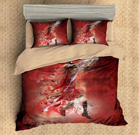 michael jordan bedroom set 3d customize michael jordan bedding set duvet cover set bedroom set be three lemons