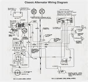 old car alternator wiring diagram electrical winding