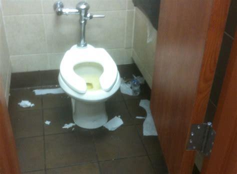 nasty bathrooms td46 the tale of three trucker slobs