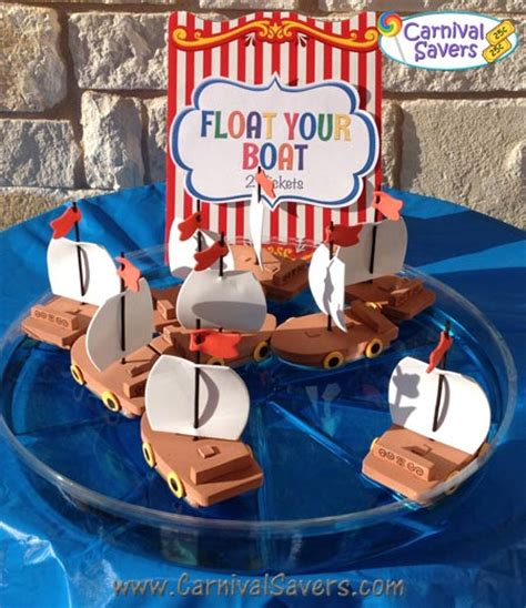 floating your boat float your boat carnival game idea