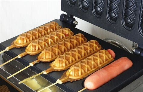 Mesin Waffle Mesin Waffle Hotdog mesin waffle cone bekasi mesin