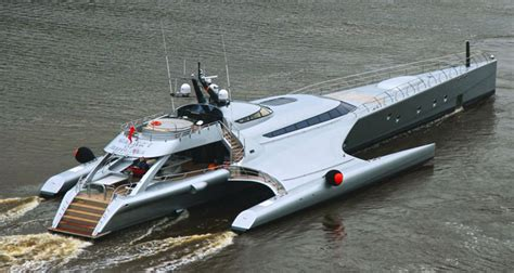 trimaran yacht galaxy all composite yacht galaxy of happiness debuts in monaco