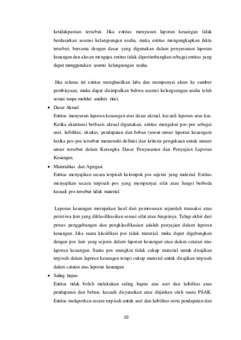 Akuntansi Dasar Berbasis Psak makalah psak 1 kerangka konseptual