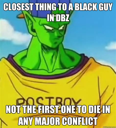 Piccolo Meme - closest thing to a black guy in dbz is a better parent to