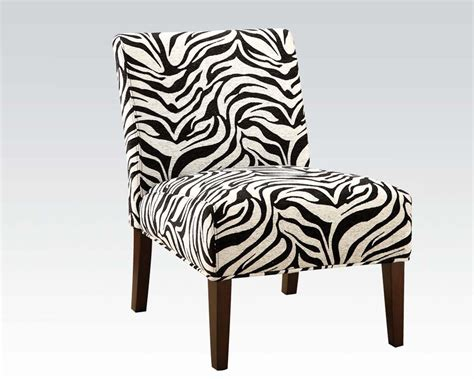 Zebra Accent Chair Acme Furniture Zebra Accent Chair Ac59152