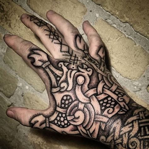 dragon tattoo on finger 573 best vikings and viking tatto images on pinterest